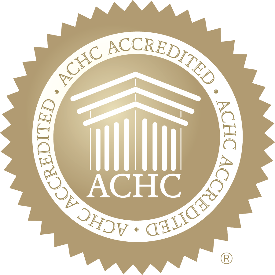 The Bergand Group - ACHC Gold Seal of Accreditation-CMYK