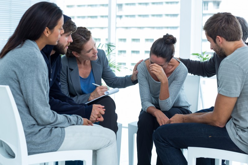 Addiction recovery in Howard County and Group Therapy - The Bergand Group